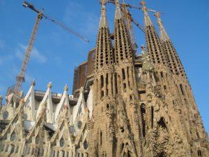 バルセロナのサグラダ・ファミリア