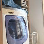 家事コーナーの洗濯機
